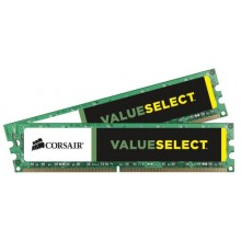 DDR3 16GB PC 1333 CL9  CORSAIR KIT (2x8GB) Value Select retail