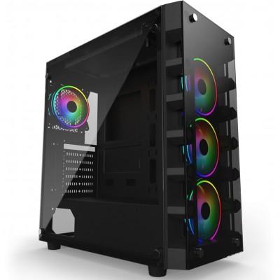 Firebreather Lava A3760 AMD Ryzen 7 3700X 8-Core (16 threads) 3.6Ghz (turbo: 4.4Ghz) Nvidia Geforce RTX 3060 12GB GDDR6 grafische kaart 256GB SSD 16GB DDR4