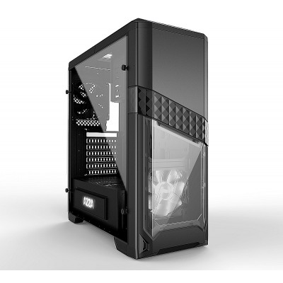 Intel Core i5 8400 6-Core 6x2.8Ghz (turbo: 4.0Ghz) snelle Nvidia Geforce GTX 1660 Ti 6GB GDDR6 PCI-E grafische kaart 2TB SATA 600 HDD 8GB DDR4 DVDRW